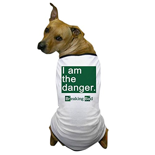 [CafePress - BREAKING BAD: I Am the Danger Dog T-Shirt - Dog T-Shirt, Pet Clothing, Funny Dog] (Breaking Bad Jesse Costumes)