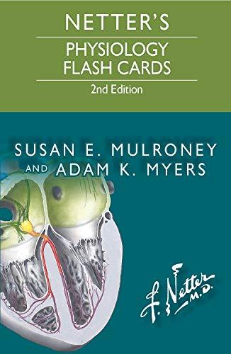 Netter's Physiology Flash Cards (Netter Basic Science)