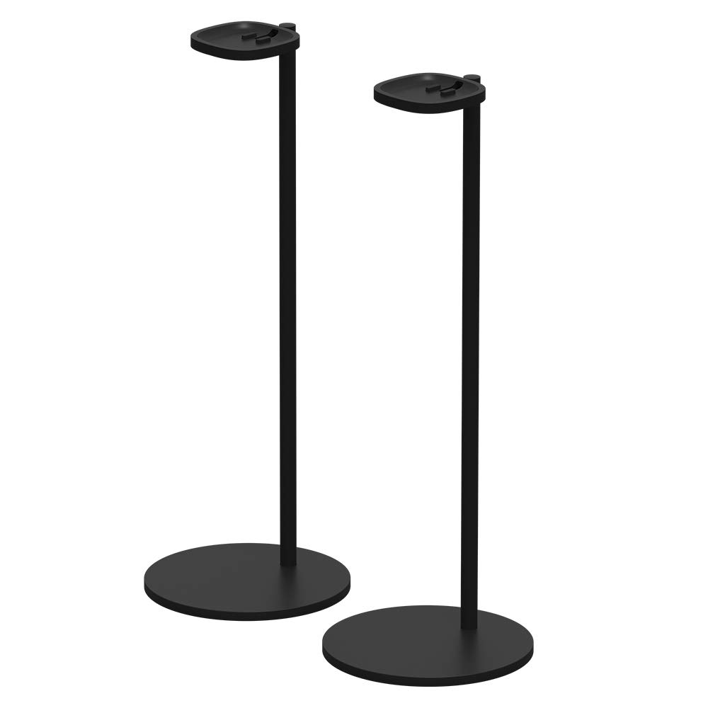 Pair of Sonos Stands for One and Play:1 (Black) by Sonos
