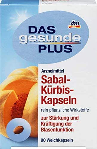 DAS gesunde PLUS Sabal-Kürbis-Kapseln, 1 x 90 St Arzneimittel