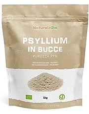 Biologische Psylliumschillen - Zuiverheid 99% - 1 kg. 100% Psyllium husk Bio, natuurlijk en zuiver. Geproduceerd in India. Rijk aan vezels, te consumeren in water, dranken of sappen.