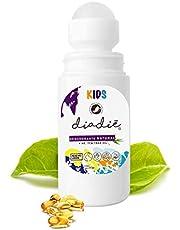 Diadie Desodorante natural kids. Infantil, para niños. Unisex. Libre de Alumino. Con AE tea tree oil y vitamina E. Ahora en Roll On