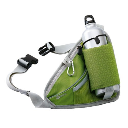 Walk Fit Waist Pack With Water Bottle