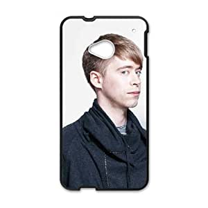 HTC One M7 Cell Phone Case Covers Black Digitalism VYE Phone Case Customized Durable