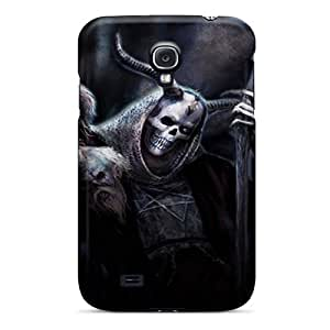 New Premium Flip Case Cover Dark Skin Case For Galaxy S4