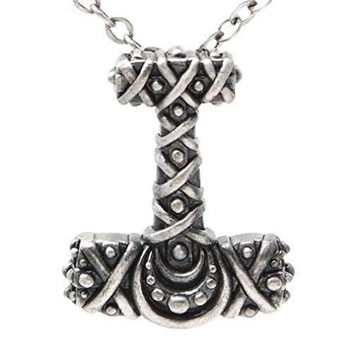 Ky & Co YesKela Lead-Free Pewter Necklace - Thor Hammer