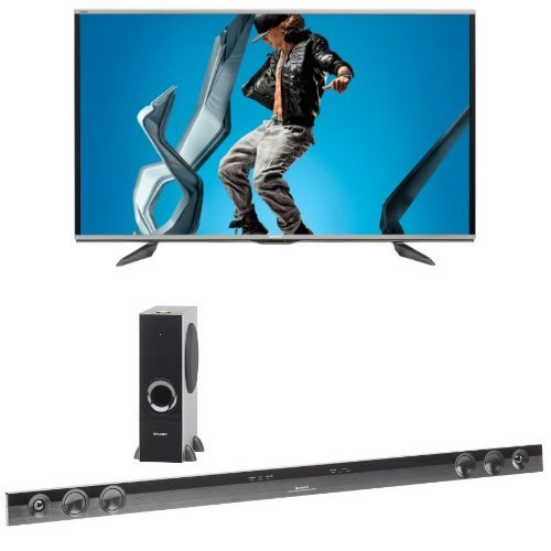 Sharp 70UQ17U HDTV HT SB602 Sound