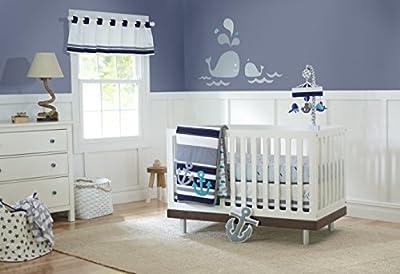 Just Born 100% Cotton Fitted Crib Sheets, Adventure Arrows, White/Blue/Orange