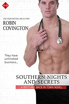 Southern Nights and Secrets (The Boys are Back in Town) by [Covington, Robin]