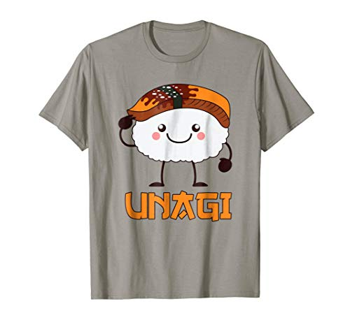 Unagi Funny Grilled Fish Asia Fast Food Comic T Shirt Gift