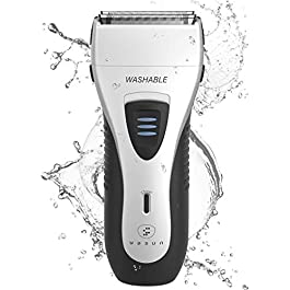 Electric Razor for Men, YASUN Men's Foil Shaver, Wet/Dry IPX7 Waterproof Electric Shavers for Men with Pop-up Beard…