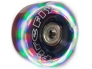 Firefly LightUp Quad Wheels - Flashy Light Up Wheels w/ Devaskation Bag 58mm4pk