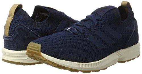 Da Navy Primeknit Adidas gum Scarpe Blu Zx collegiate collegiate Basse Adulto Unisex Flux Ginnastica Navy wqIqOgxaS