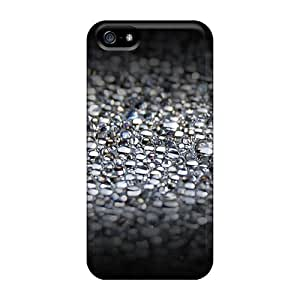 customize diy Defender Tpu Hard Case Cover For Iphone 5 5s- Water Bubbles ka ka case