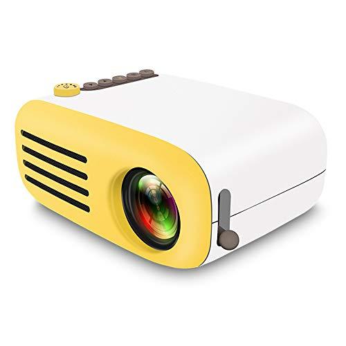 Hanbaili 4K 3D Full HD Projector 4K 3D 1080P HD Projector DLP Mini YG200 Media Player AV/USB/HDMI/TF HD ()