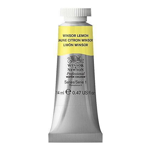 Winsor & Newton Professional Water Colour Paint, 14ml tube, Winsor Lemon