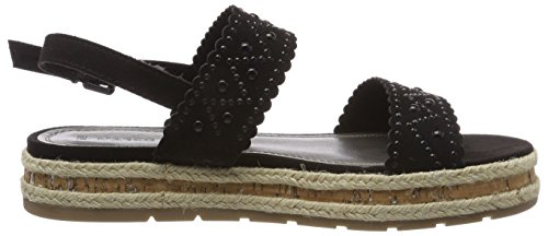 Caviglia Marco Tozzi Donna Cinturino Nero 28400 Black Sandali alla con r4YwnT4qBx