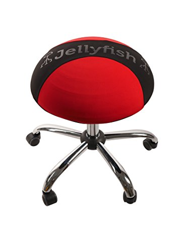 THE ORIGINAL Balance Ball Office Chair Stool, Adjustable Chair - Ergonomic Exercise yoga Chair that Provides Stability and Core Strength ( SALE - CLICK PROMOTIONS FOR BONUS SEAT COVER RRP 24.99)