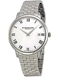 ' Toccata' Swiss Quartz Stainless Steel Casual Watch, Color:Silver-Toned (Model: 5588-ST-00300)