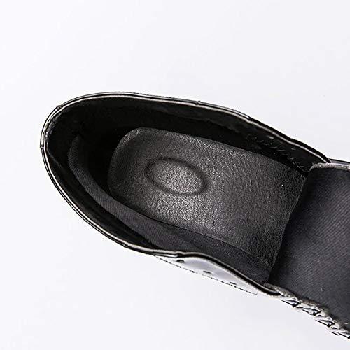 Parrucchiera Temperamento Di Stringate Festa Da E Uomo Moda Black Scarpe In Dimensioni Sera Scarpe Pelle Grandi Matrimonio qB4ftTFn