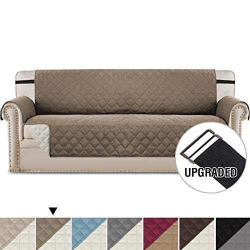 H.VERSAILTEX Reversible Furniture Protector, Microfiber Soft and Water-Repellent Protector/Slipcovers Seat Width to 78