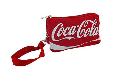 Red CocaCola Zippered...