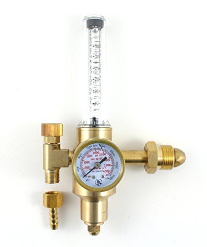 Argon CO2 - TIG MIG Flow Meter - Welding Regulator - Welder Gauge SÜA - CGA580
