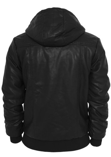Urban Classics Herren Leather Imitation Jacket TB436