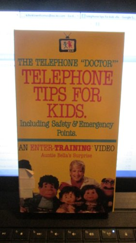 The Telephone Doctor Telephone Tips For Kids {VHS Video} -