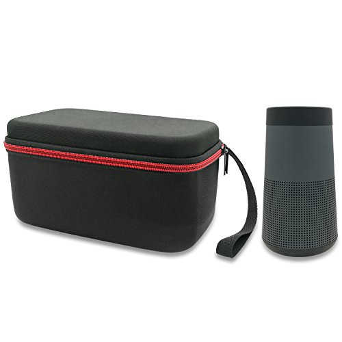 Fastsnail Hard Case Travel Bag For Bose Revolve Bluetooth Speaker  Fits The Charger And More Accessories