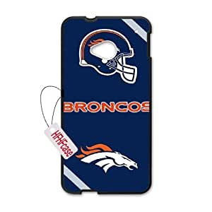 HFHFcase Cheap Phone Case for HTC One M7, Broncos HTC One M7 Cell Phone Case