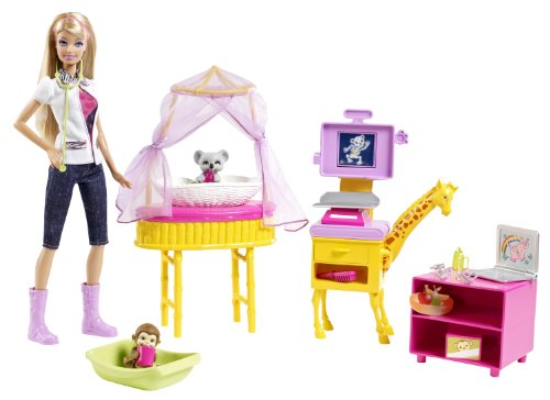 Barbie I Can Be Zoo Doctor Doll Playset, Baby & Kids Zone