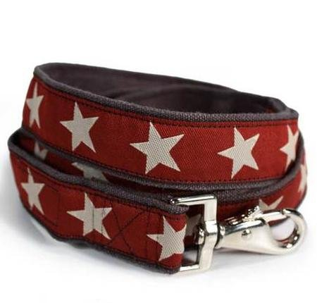 Hemp Star Dog Leads-4FT-KODYII(RED)