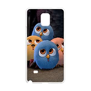 Free Birds Cartoon Samsung Galaxy Note 4 Cell Phone Case White 218y-914225