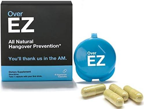 EZ Hangover Prevention milligrams Servings