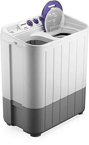 Samsung 7.2 kg Semi-Automatic Top Loading Washing Machine (WT725QPNDMPXTL, White and Blue, Center Jet Pulsator) Discounts Junction