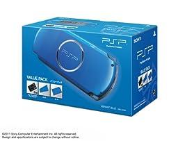 SONY PSP Playstation Portable Console JAPAN MODEL PSP-3000 Vibrant Blue Value Pack   PSPJ-30024 (Japan Import)