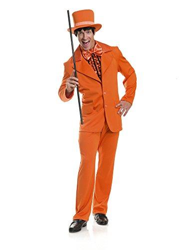 Charades Men's Funny Tuxedo Costume, Blue -