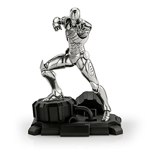Royal Selangor Hand Finished Marvel Collection Pewter Limited Edition Iron Man Figurine ()