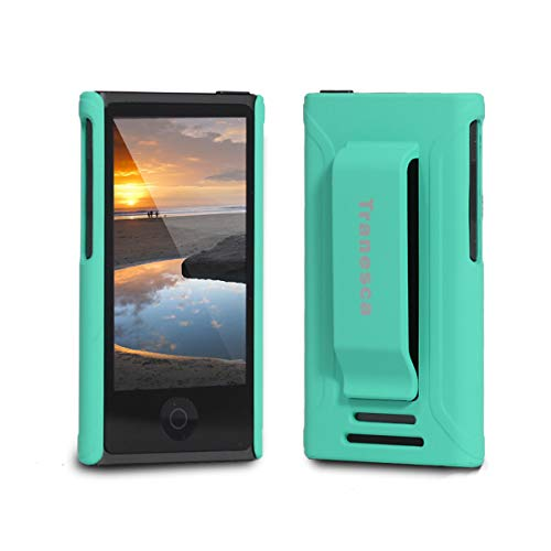 Tranesca Compatible with iPod Nano Protective case for Apple iPod Nano 7th & 8th Generation (Sea - Apple Ipod Nano Green