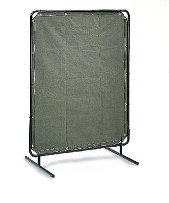 Radnor RAD64052101 6' x 8' 12 oz. Olive Drab Duck Canvas Replacement Welding Screen, English, 11.51 fl. oz, Plastic, 1 x 96 x 72