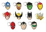 Best batman Key Chain For Men - 11 Pieces, Superhero Key Chains Party Favors Review