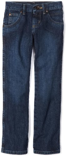 Wrangler Big Boys' Retro Straight Leg Big Boys' Jeans, Everyday Blue, 14 Regular -