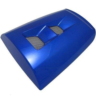 Motorcycle Blue Rear Passenger Pillion Seat Cowl ABS Motor Fairing Hard Cover For 2004-2007 Honda CBR1000RR CBR 1000 RR 1000RR 2005 2006 04-07 (Honda Cbr1000rr Repsol)