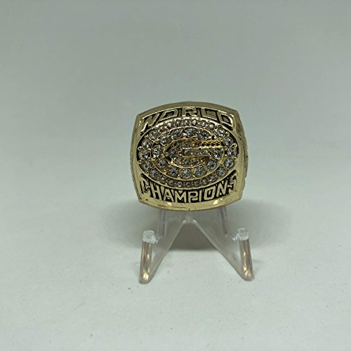 (Brett Favre Green Bay Packers High Quality Replica 1996 Super Bowl XXXI Championship Ring Size 11-Gold Colored US SHIPPING)