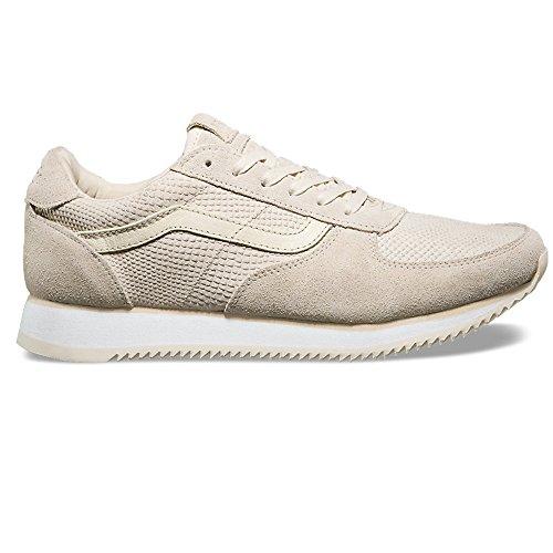 Glissement Sur Le Daim Chaussures De Sport - Vans Crème b4p18ulX