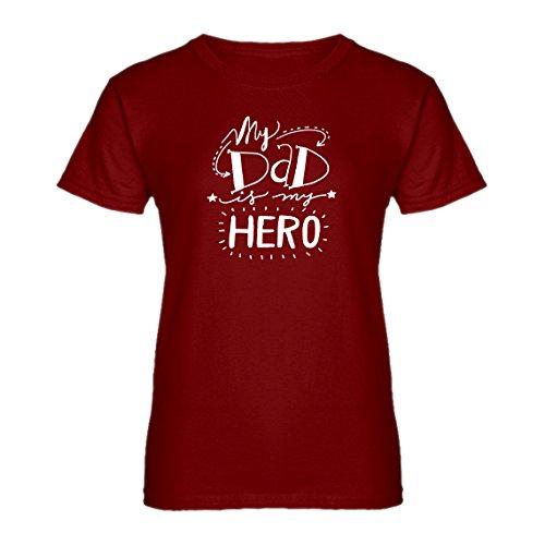 Womens My Dad Is My Hero XX-Large Red (Red Arrow Superhero Costume)