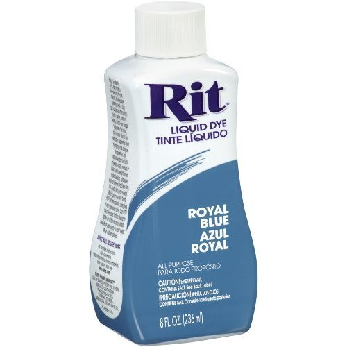 rit dye royal blue liquid - 1