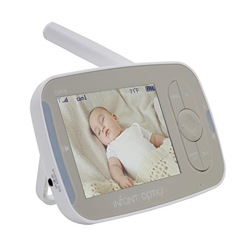 Infant Optics DXR-8 Standalone Monitor Unit ONLY v2.1 with Round-Pin Charging Port (Without Camera Unit and Battery) (Optics Monitor Camera Baby Infant)