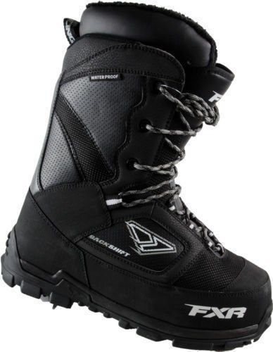 Men's FXR Backshift Snowmobile Boots, BLACK, 8M